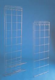 Úložná stěna s háčky na oděv se dvěma policemi