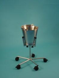 Stojan s odhazovací nádobou - stavitelná šířka nádoby